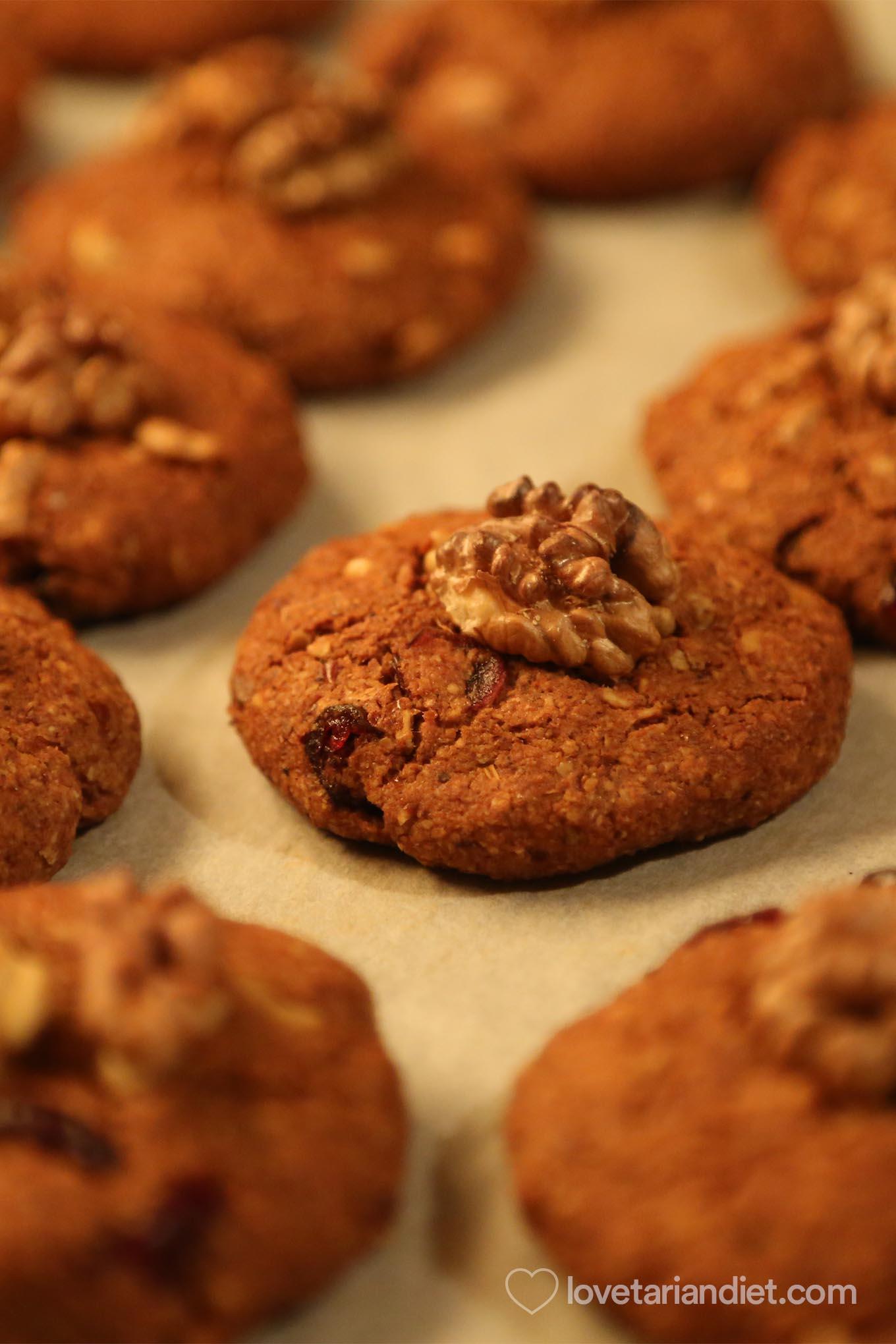 Vegan Oil Free Gingerbread Christmas Cookies